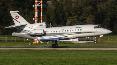 T-785 - Dassault Falcon 900EX - Switzerland - Air Force