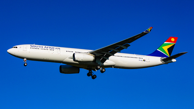 ZS-SXK - Airbus A330-343 - South African Airways