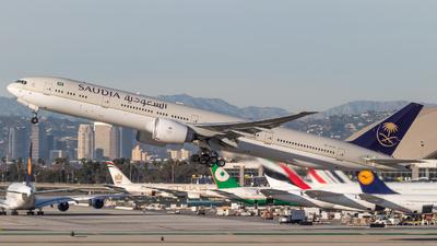 HZ-AK38 - Boeing 777-3FGER - Saudi Arabian Airlines