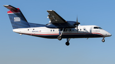 N941HA - Bombardier Dash 8-102 - US Airways Express (Piedmont Airlines)