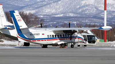 RA-67007 - Let L-410UVP-E20 Turbolet - Petropavlovsk-Kamchatskoe Aviation Enterprise
