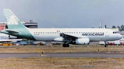 XA-RJW - Airbus A320-231 - Mexicana