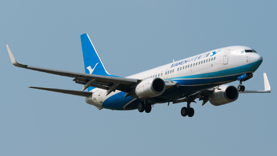 A picture of B7558 - Boeing 73785C - Xiamen Air - © Jeff Tang