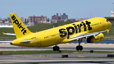 N605NK - Airbus A320-232 - Spirit Airlines