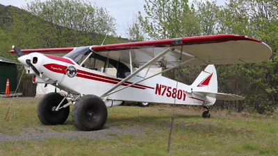 N7580Y - Piper PA-18-150 Super Cub - Meekins Air Service