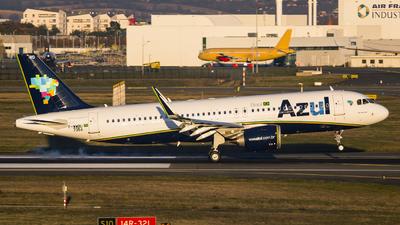 F-WWBU - Airbus A320-251N - Azul Linhas Aéreas Brasileiras