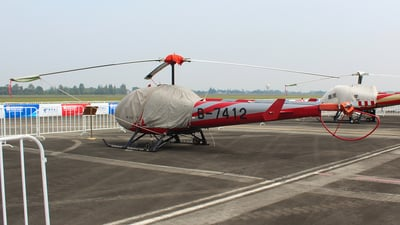 B-7412 - Enstrom 280FX Shark - Private