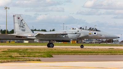 733 - McDonnell Douglas F-15D Baz - Israel - Air Force