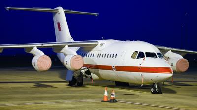 A9C-BDF - British Aerospace Avro RJ85 - Bahrain - Air Force