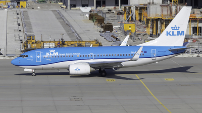 A picture of PHBGI - Boeing 7377K2 - KLM - © Maximilian Stridde