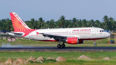 VT-SCO - Airbus A319-112 - Air India