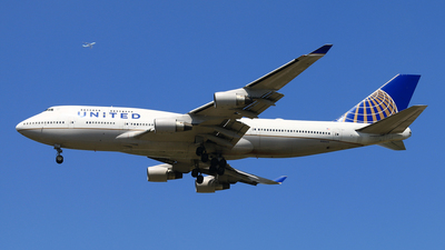 N105UA - Boeing 747-451 - United Airlines
