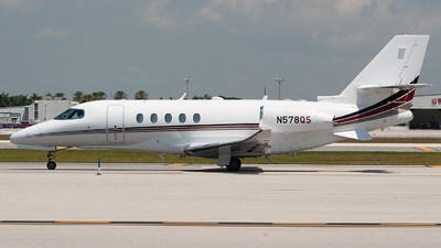 N578QS - Cessna Citation Latitude - NetJets Aviation