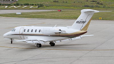 N521RF - Cessna 650 Citation VII - Private