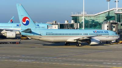 A picture of HL7716 - Boeing 7379B5 - Korean Air - © JC