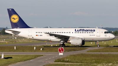 D-AIBA - Airbus A319-114 - Lufthansa