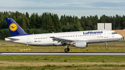 D-AIZA - Airbus A320-214 - Lufthansa