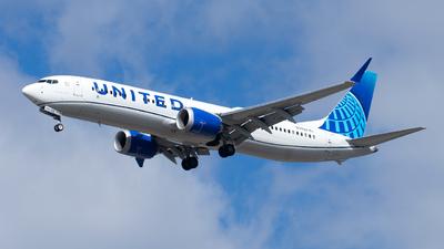 N17529 - Boeing 737-9 MAX - United Airlines
