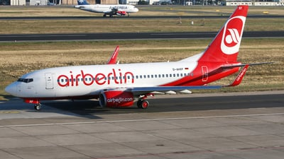 D-AHXF - Boeing 737-7K5 - Air Berlin