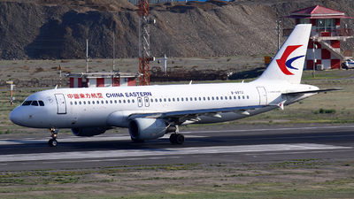 A picture of B6872 - Airbus A320214 - China Eastern Airlines - © Zihao Wang ~ AHaoo