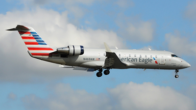 N469AW - Bombardier CRJ-200ER - American Eagle (Air Wisconsin)