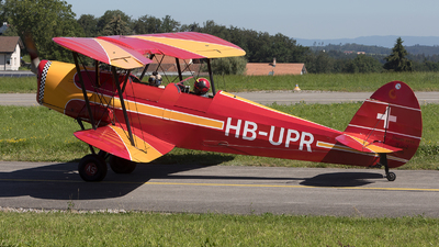 HB-UPR - Stampe and Vertongen SV-4A - Private