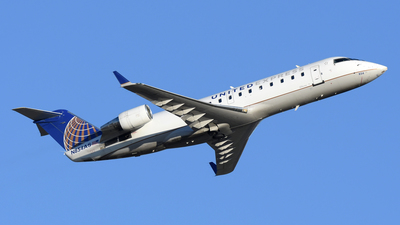 A picture of N854AS - Mitsubishi CRJ200LR - United Airlines - © DJ Reed - OPShots Photo Team