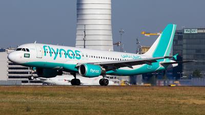 VP-CXM - Airbus A320-214 - Flynas