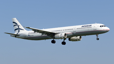 A picture of SXDGQ - Airbus A321231 - Aegean Airlines - © RAFAL KUKOWSKI