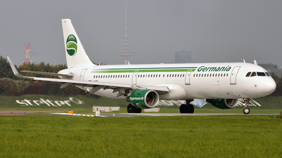 D-ASTE - Airbus A321-211 - Germania
