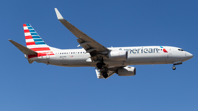 A picture of N344PP - Boeing 737823 - American Airlines - © Santiago_MN