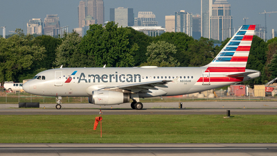 N808AW - Airbus A319-132 - American Airlines