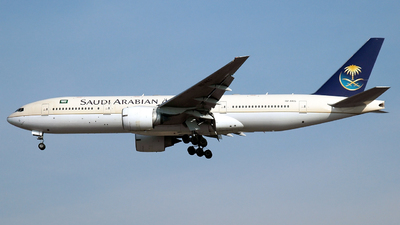 HZ-AKG - Boeing 777-268(ER) - Saudi Arabian Airlines