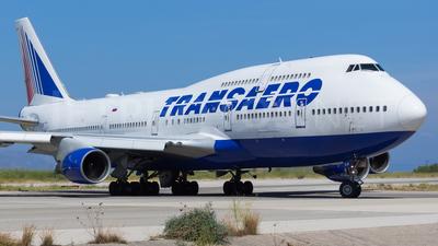 EI-XLM - Boeing 747-412 - Transaero Airlines