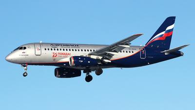 A picture of RA89041 - Sukhoi Superjet 10095B - Aeroflot - © Airyura
