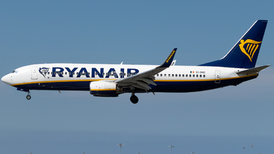 A picture of EIDHC - Boeing 7378AS - Ryanair - © James Dinsdale