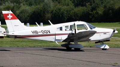 HB-OQV - Piper PA-28-151 Cherokee Warrior - Private