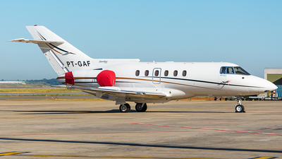 PT-GAF - British Aerospace BAe 125-800B - Banjet Táxi Aéreo