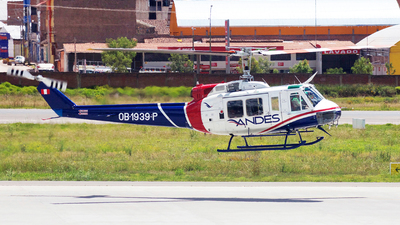 OB-1939-P - Bell 205A-1 - Andes