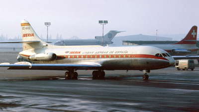 EC-AXU - Sud Aviation SE 210 Caravelle VIR - Iberia