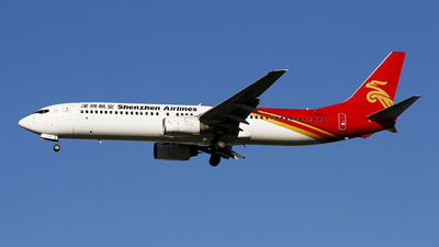 A picture of B5103 - Boeing 73797L - Shenzhen Airlines - © wangpaul