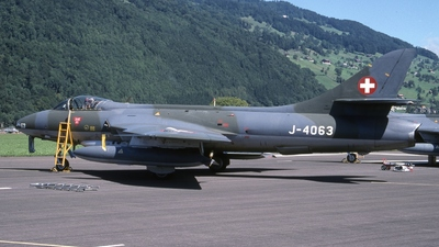 J-4063 - Hawker Hunter F.58 - Switzerland - Air Force