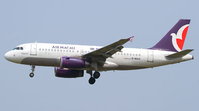 B-MAO - Airbus A319-132 - Air Macau