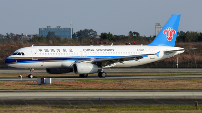 B-6827 - Airbus A320-232 - China Southern Airlines