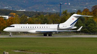 HB-JLC - Bombardier BD-700-1A10 Global 6000 - Nomad Aviation