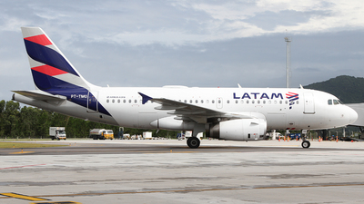 A picture of PTTMO - Airbus A319132 - LATAM Airlines - © Bruno Orofino