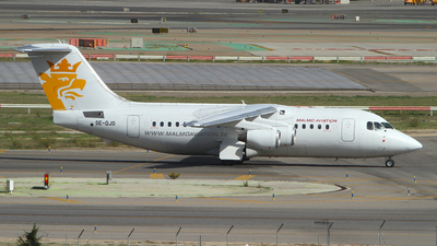 SE-DJO - British Aerospace Avro RJ85 - Malm� Aviation