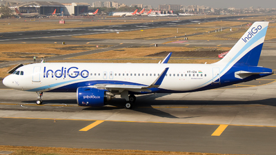 VT-IZA - Airbus A320-271N - IndiGo Airlines