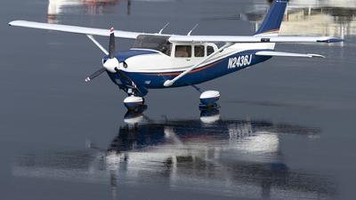 A picture of N2436J - Cessna T206H Turbo Stationair - [T20608138] - © Leran Dai
