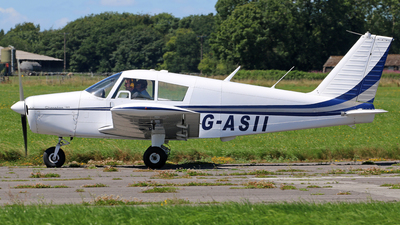 G-ASII - Piper PA-28-180 Cherokee - Private